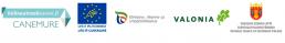 Logot: Canemure, hiilineutraalisuomi.fi, Varsinais-Suomen ELY-keskus, Valonia, Varsinais-Suomen liitto