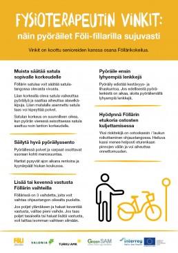 ohjeet kaupunkipyöräilyyn