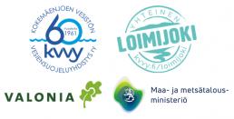 Loiku-hankkeen toetuettajien ja rahoittajan logot