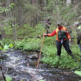 puroinventointia metsäpurolla