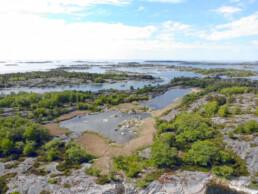 Kluuvijärvi saaristossa.